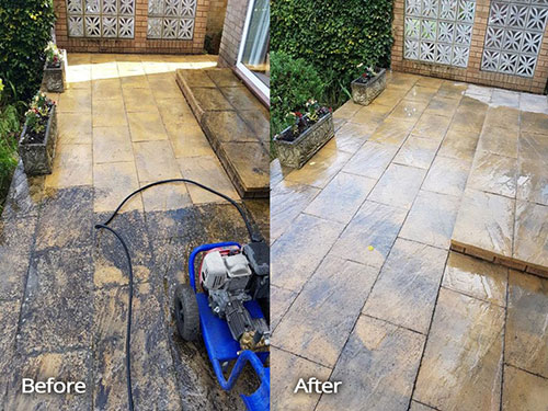 Patio and Driveway Cleaning in Swindon